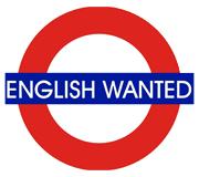 English Wanted